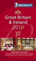 Michelin Guide Great Britain & Ireland 2010: Hotels & Restaurants (Michelin Guide/Michelin)
