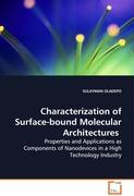 Characterization of Surface-bound MolecularArchitectures - OLADEPO SULAYMAN