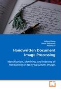 Handwritten Document Image Processing