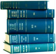 Recueil Des Cours, Collected Courses, Volume 69 (1939-III)