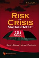 Risk and Crisis Management: 101 Cases, (Revised Edition)