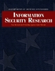 Department of Defense Sponsored Information Security Research - Cliff Wang; Steven King; Ralph Wachter; Robert Herklotz; Chris Arney; Gary Toth; David Hislop; Sharon Heise; Todd Combs