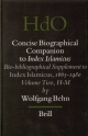 Concise Biographical Companion to Index Islamicus - Wolfgang Behn