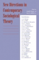New Directions in Contemporary Sociological Theory - Joseph Berger; Morris Zelditch