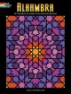 Alhambra Stained Glass Coloring Book - Nick Crossling
