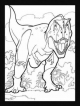 Dinosaurs Stained Glass Coloring Book - Jan Sovak