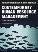 Contemporary Human Resource Management 4e - Adrian Wilkinson;  Tom Redman