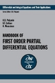 Handbook of First-Order Partial Differential Equations - Andrei D. Polyanin; Valentin F. Zaitsev; Alain Moussiaux
