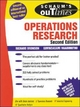Schaum's Outline of Operations Research - Richard Bronson; Govindasami Naadimuthu