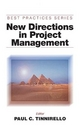 New Directions in Project Management - Paul C. Tinnirello