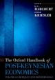 Oxford Handbook of Post-Keynesian Economics, Volume 2: Critiques and Methodology
