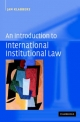 Introduction to International Institutional Law - Jan Klabbers