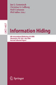 Information Hiding - Jan Camensich; Christian Collberg; Neil Johnson; Phil Sallee