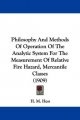 Philosophy and Methods of Operation of the Analytic System for the Measurement of Relative Fire Hazard, Mercantile Classes (1909) - H M Hess