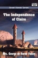Independence of Claire - George de Horne Vaizey