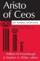 Aristo of Ceos - William W. Fortenbaugh; Stephen A. White
