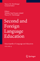 Second and Foreign Language Education - Nelleke van Deusen-Scholl; Nancy H. Hornberger