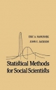 Statistical Methods for Social Scientists - Eric A. Hanushek; John E. Jackson; Peter H. Rossi