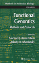 Functional Genomics - Michael J. Brownstein; Arkady Khodursky
