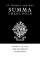 Summa Theologiae: Volume 56, the Sacraments - Saint Thomas Aquinas; David Bourke