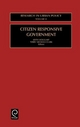 Citizen Responsive Government - Terry Nichols Clark; Keith Hoggart; Fred W. Becker; Milan J. Dluhy