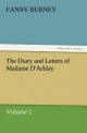 The Diary and Letters of Madame D'Arblay - Volume 2 - Fanny Burney