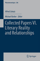 Collected Papers VI. Literary Reality and Relationships - Alfred Schutz; Michael Barber