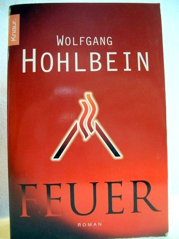 Feuer Roman / Wolfgang Hohlbein - Hohlbein, Wolfgang