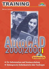 AutoCAD 2000/2001i Training intensiv.