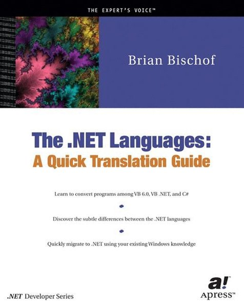 TheNET Languages.  Corr 2nd printing - Bischof, Brian, Manfred Abel and Thomas Pasch