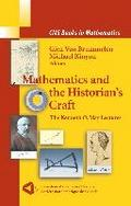 Mathematics and the Historian`s Craft - Michael Kinyon