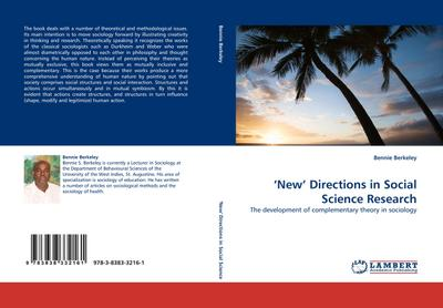 New' Directions in Social Science Research - Bennie Berkeley