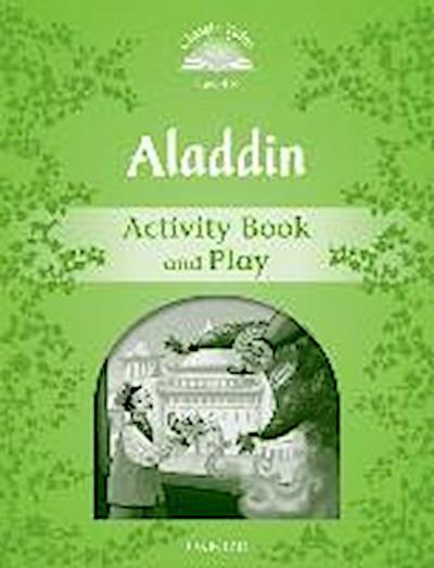 Aladdin Activity Book & Play - Sue Arengo