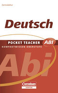 Pocket Teacher Abi - Sekundarstufe II: Deutsch - Peter Kohrs