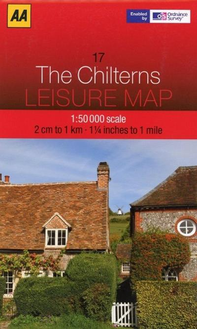 Leisure Map WK 17 The Chilterns 1 : 50 000