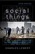 Social Things - Charles Lemert