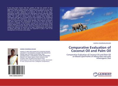 Comparative Evaluation of Coconut Oil and Palm Oil - HAMSA DHARMALINGAM