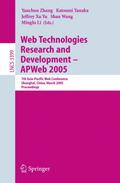 Web Technologies Research and Development - APWeb 2005 - Yanchun Zhang