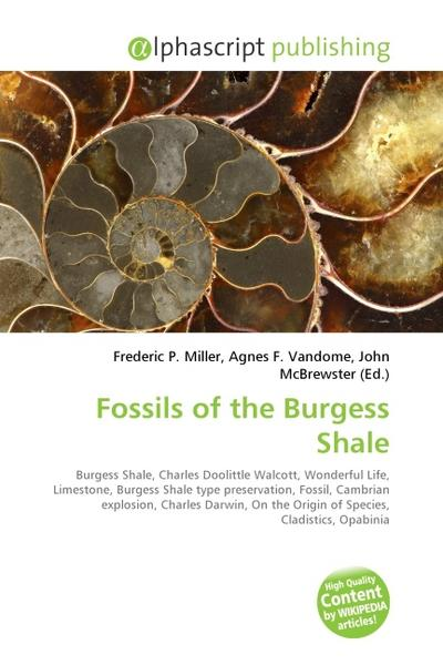 Fossils of the Burgess Shale - Frederic P. Miller