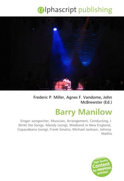 Barry Manilow - Frederic P. Miller