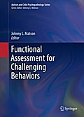 Functional Assessment for Challenging Behaviors - Johnny L. Matson