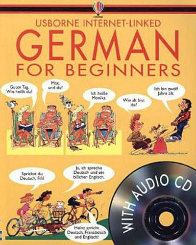 German for Beginners. With Audio-CDs - Angela Wilkes