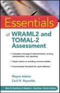 Essentials of WRAML2 and TOMAL-2 Assessment - Wayne Adams