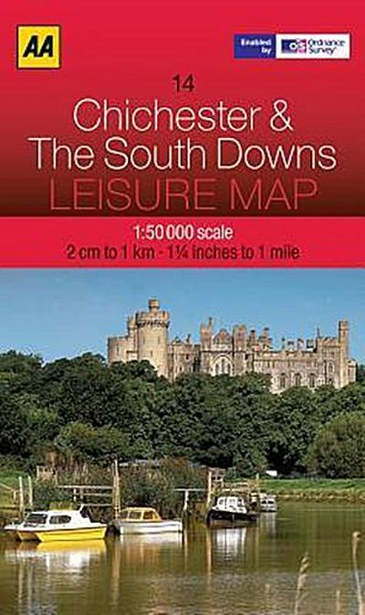 Leisure Map WK 14 Chichester 1 : 50 000
