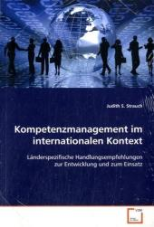 Kompetenzmanagement im internationalen Kontext - Judith S. Strauch