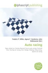 Auto racing - Frederic P. Miller