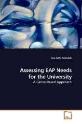 Assessing EAP Needs for the University - Faiz Sathi Abdullah