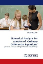 Numerical Analysis for solution of  Ordinary Differential Equations' - Ram B. Misra