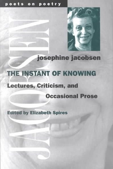 The Instant of Knowing - Josephine Jacobsen