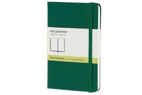 Moleskine Oxide Green Pocket Plain Notebook Hard - Moleskine